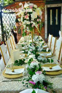 Dekoracija venčanja - Restoran Franš