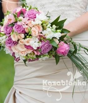 BDM 018. Bidermajer - Jana ruže, Frezije, zelenilo