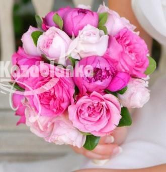 Bidermajer - Božuri i ruže