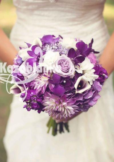 BDM 148.  Bidermajer - Hortenzije, kale, ruze, dalije i orhideje sa dekoracijom